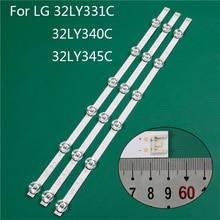 LED TV aydınlatma parçası LG için yedek parça 32LY340C UA 32LY345C ZA 32LY331C ZA LED çubuk arka şerit hattı cetvel DRT3.0 32 A B