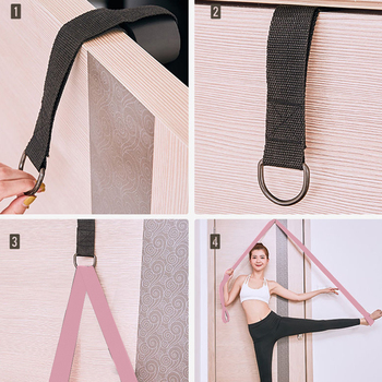 Door Flexibility Stretching Leg Stretcher Strap for Ballet Cheer Dance Gymnastics Trainer Yoga Flexibility Leg
