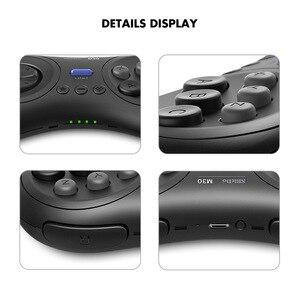Image 3 - 8bitdo M30 Bluetooth геймпад Беспроводной игровой контроллер с Джойстик для Raspberry PI 3B + 4B Android ТВ коробка macOS Nintendo переключатель