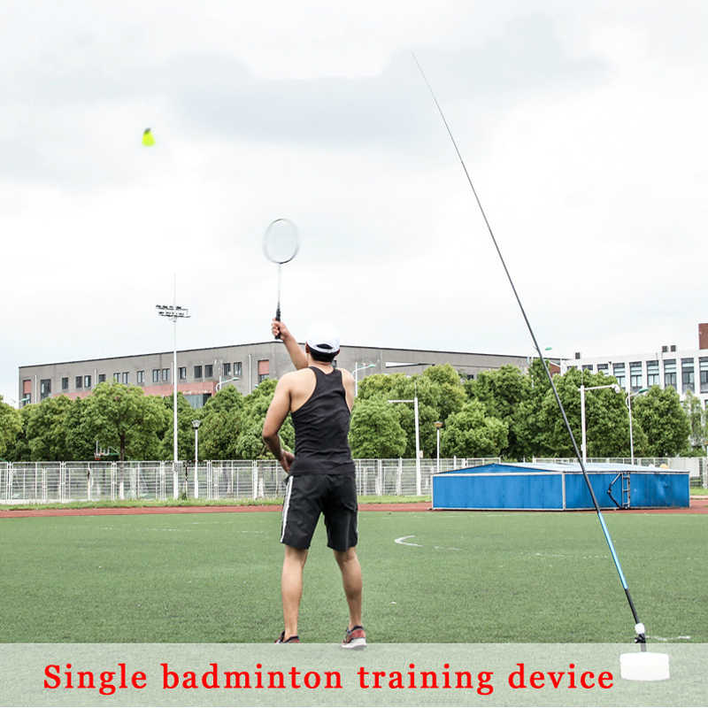 Badminton Trainer Robot Professional Stretch Badminton Training Tool Exercise Self-study Practice Machine Rebound