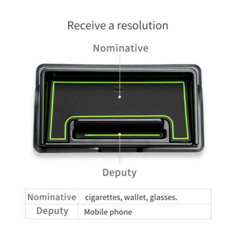 Boîte de rangement antidérapante pour tableau de bord de voiture adaptée à la boîte multifonctionnelle Suzuki Jimny 2019