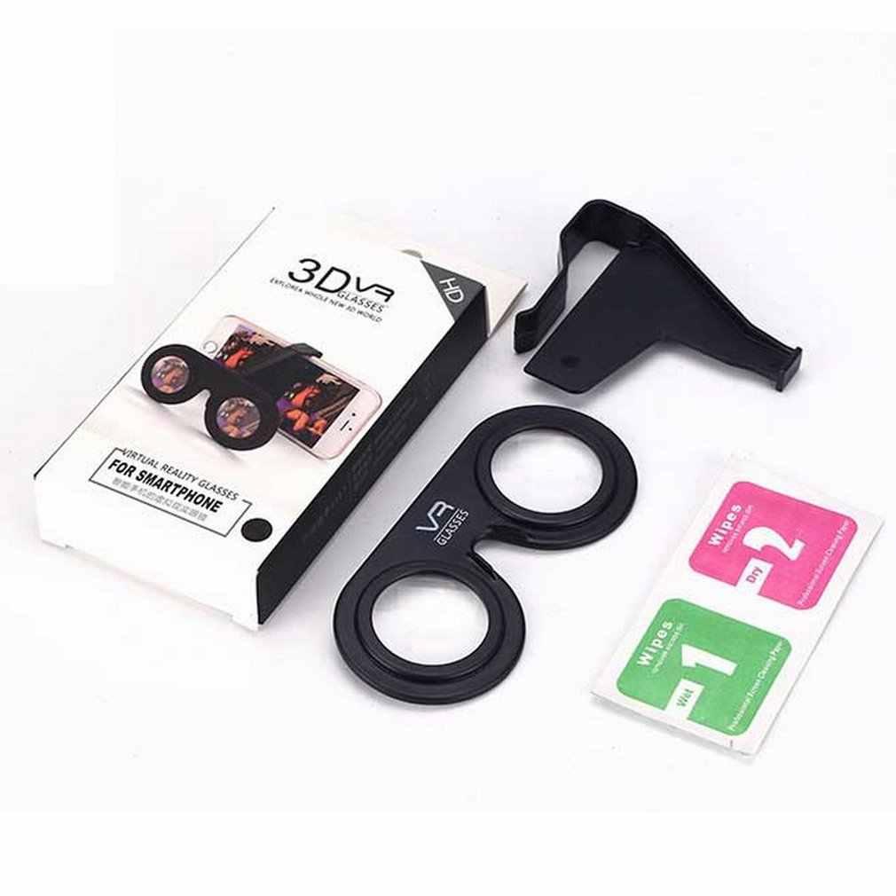 Okulary VR składane Mini gogle z soczewki hd kompatybilne ze smartfonami z systemem android i ios w zakresie od 3.5 do 6 cali
