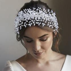 Bridal Hair Accessories For Wedding Headpiece Rhinestone Hair Patch Fashion