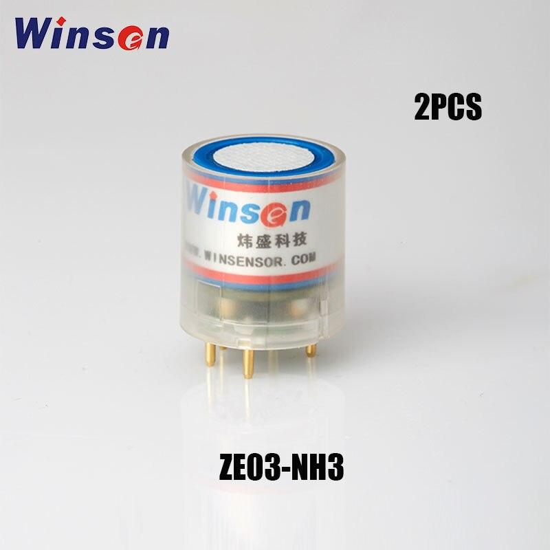 Winsen-Module de détection électrochimique ZE03, 2 pièces, haute sensibilité et résolution, sortie de tension analogique UART et UART, livraison gratuite