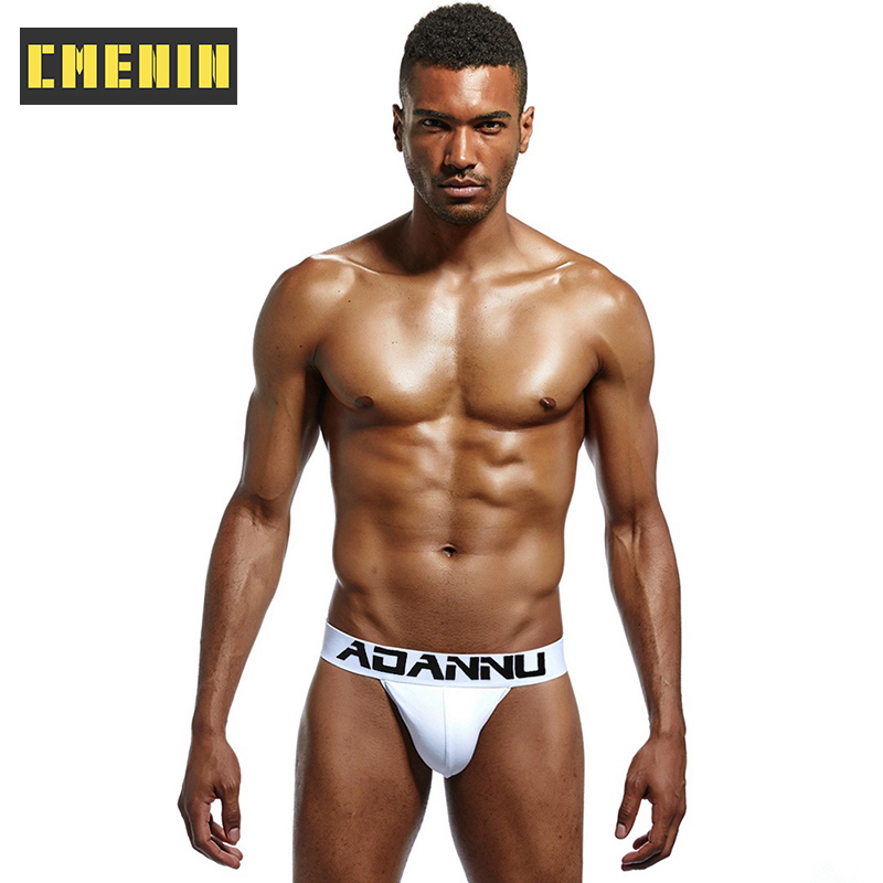 Roupa interior masculina sexy de algodão de secagem rápida cuecas masculinas da forma cuecas de biquíni gay cuecas masculinas topo ad214