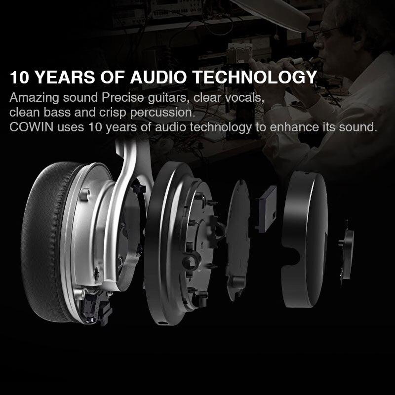 Original Cowin E7 ANC bluetooth Headphone wireless bluetooth headset Earphone for Phones Active Noise Cancelling headphones 5