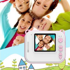 Image 4 - HitTime 2 Мини DIY мгновенная термопечать цифровая камера автоматическая печать фотографий 8 Мп образовательная детская камера детские игрушки