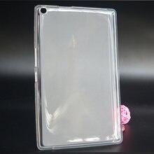 Мягкий, с бесцветным прозрачным TPU силиконовый чехол для 8,0 ASUS ZenPad 8,0 Z380 Z380C Z380M Z380KL Z380KNL P024 планшетный ПК чехол