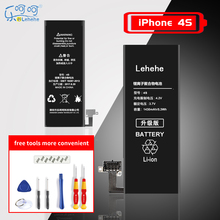 Lehehe батарея на айфон 4s  4 Original mobile phone High Quality Replacement Bateria 1420-1430mAh with tools Gifts