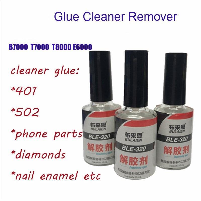 1pc 10g Glue Cleaner Remover In B7000 T7000 E6000 Debonder Clean For Super UV Epoxy Resin Foil Nail Polish Enamel 502 Textile
