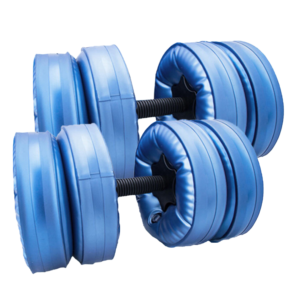 16-20KG Water-filled Dumbbell Fitness Equipment Training Arm Muscle Adjustable Convenient Water Injection Dumbbells for Men New