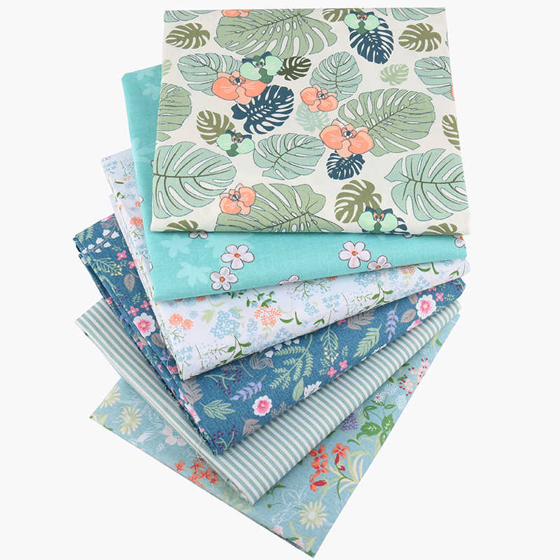 Cartoon Twill Fabric Quilting Patchwork Cloth DIY Sewing 100/% Cotton 42 Styles