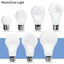 WENNI E27 3W 6W 9W 12W 15W 18W 20W bombilla LED 220V lámpara LED E14 Bombillas bombilla de foco LED 240V ampolla iluminación interior SMD2835