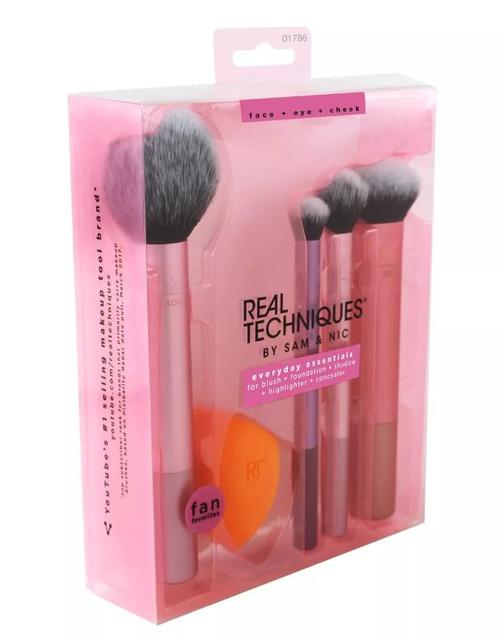 NEW Make up Brushs 1-3-4-5-6-7pcs Maquillage Real Technique Makeup Brushs Powder Loose Box Belt foundation brush 1786 1
