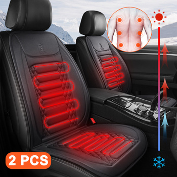 Heated Seats Cover 12V Car Seat Heating Cushion Winter Seat Heater Car Covers in Salon Warm Chair Protector Heated Seat Cushion auto seat cushion leather seat cover car seat protector cushion seat car front seats covers luxury car seat cape 5 seats