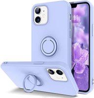 Caso de teléfono para Samsung Galaxy Nota 10 S10 S10E S8 S9 9 A50 A70 A10 A20 A30 A50S A30S Plus magnético anillo de silicona titular de la cubierta del