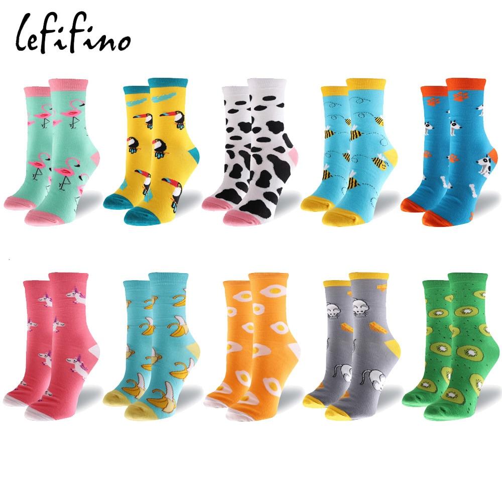 Good Cute Mouse Women Cotton Socks 2020Harajuku Cartoon Animal Funny Winter Animal Hip Hop Crew Street Happy Socks Drop Shipping