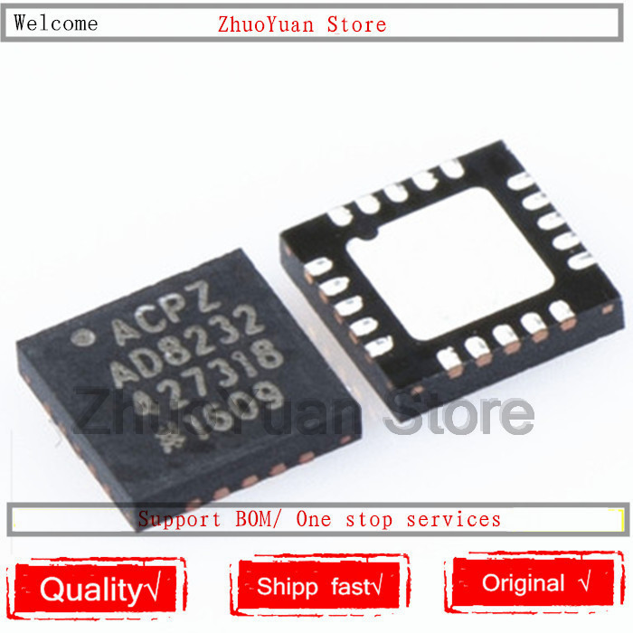 1PCS/lot AD8232 AD8232ACP AD8232ACPZ-R7 QFN-20 IC Chip New Original