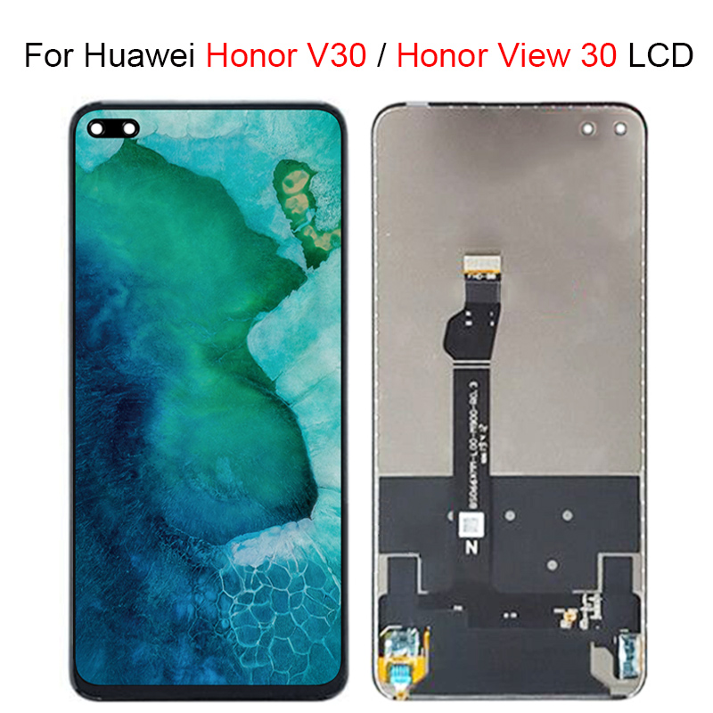 For Huawei Honor V30 LCD Screen Honor view30 LCD Display Touch Screen Digitizer Assembly Repair Parts For Huawei View 30 LCD