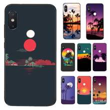 HTxian Art coconut tree seagull sunset Luxury Phone Case for Xiaomi Redmi 5 5Plus 6 6A 4X 7 7A 8 8A 9 Note 5 5A 6 7 8 8Pro 8T 9(China)