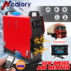 All In One 5000W Air diesels Parking Heater 5KW 12V Car Heater For Trucks Motor-Homes Boats Bus +LCD key Switch +Remote Control