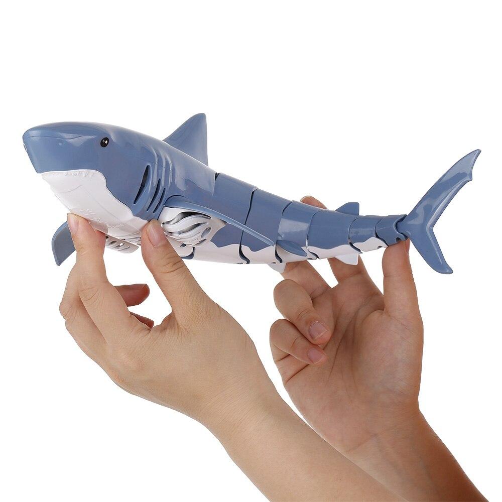 Mini RC Shark juguete de Control remoto, natación, bajo el agua juguete, barco RC eléctrico, bote de carreras, cuchara de juguete, piscina, regalo para niños