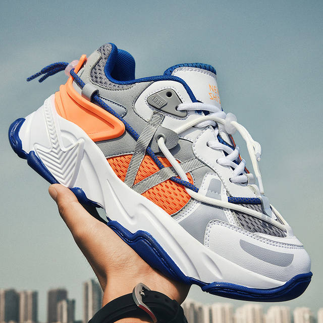 Couple Summer Running Shoes Breathable Mesh Sports Shoes for Men