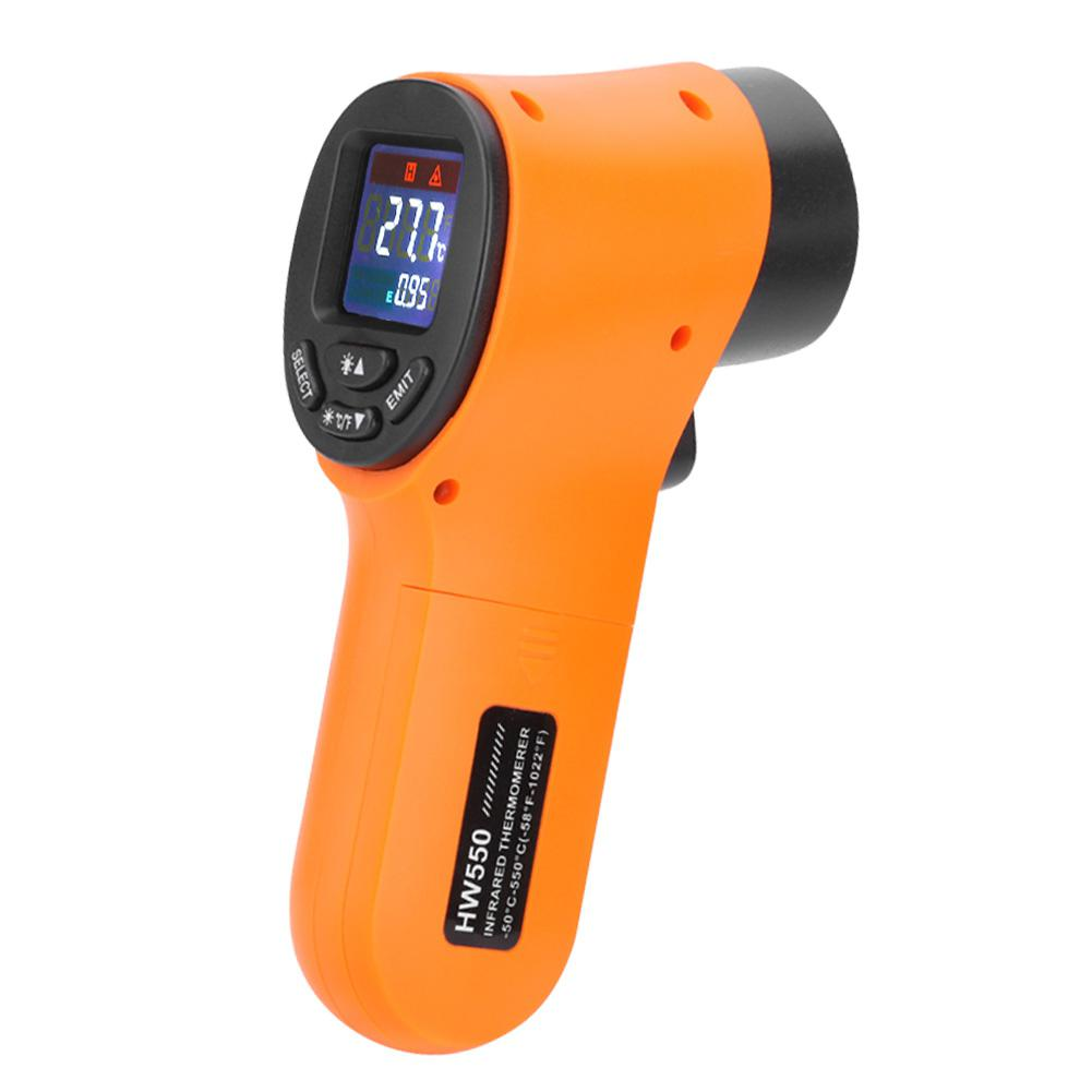 DishyKooker Infrared Thermometer Thermal Imager Handheld Digital Electronic Car Temperature
