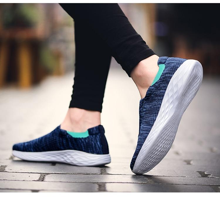 SOLI2 été chaussures décontractées respirant femmes hommes baskets sans lacet mocassins pas cher chaussures plates dames chaussures S1476-1500