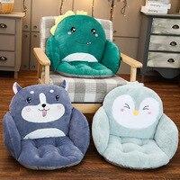 2020 новая мультяшная Милая диванная подушка офисное кресло Нескользящая Подушка плюшевая цельная утолщенная Студенческая подушка