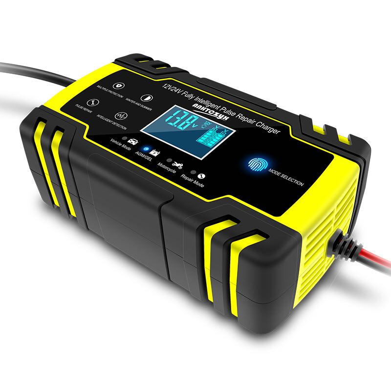 Car Battery Charger 12v24v  Motorcycle Battery Repair Type Charger Fully Automatic Car Battery Charger Charge Battery Hot
