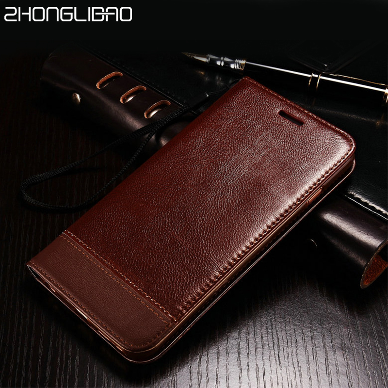 Litchi Flip Leather Case for Samsung Galaxy S10e S10 S9 S8 Plus S6 S7 Edge Note 10 9 8 5 Magnetic Card Slot Wallet Cover Lanyard