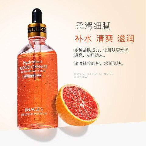 soro de sangue laranja encolhimento dos poros da pele cuidados