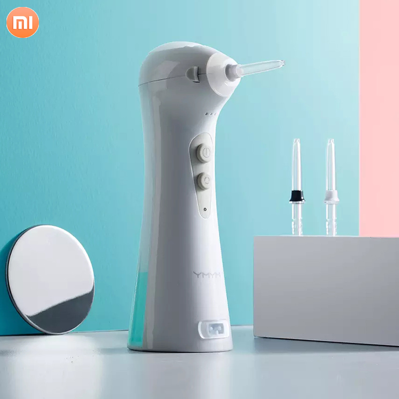 Xiaomi YMYM Portable Tooth Cleaner YF1 Tartar Nemesis Pulse 0.6mm Water Massage Gingival Tooth Cleaner Oral Hygiene Dental Care
