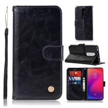 Conelz For Xiaomi Mi 9T Phone Case PU Leather Full Protection Flip-Open Stand Wallet Cover