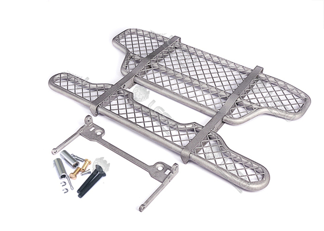 Metal Rc Truck Front Bumper For 1/14 Rc Tamiya Volvo-FH16 Trucks 750 56360 6X4 Tractor