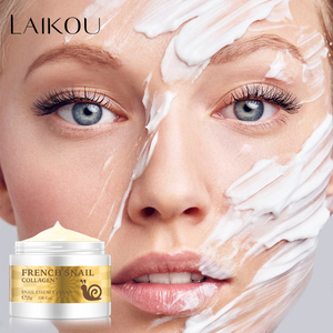 Snail Face Cream Hyaluronic Acid Moisturizing Collagen Anti-Wrinkle Anti-aging Facial Day Cream Whitening Nourishing Skin Care