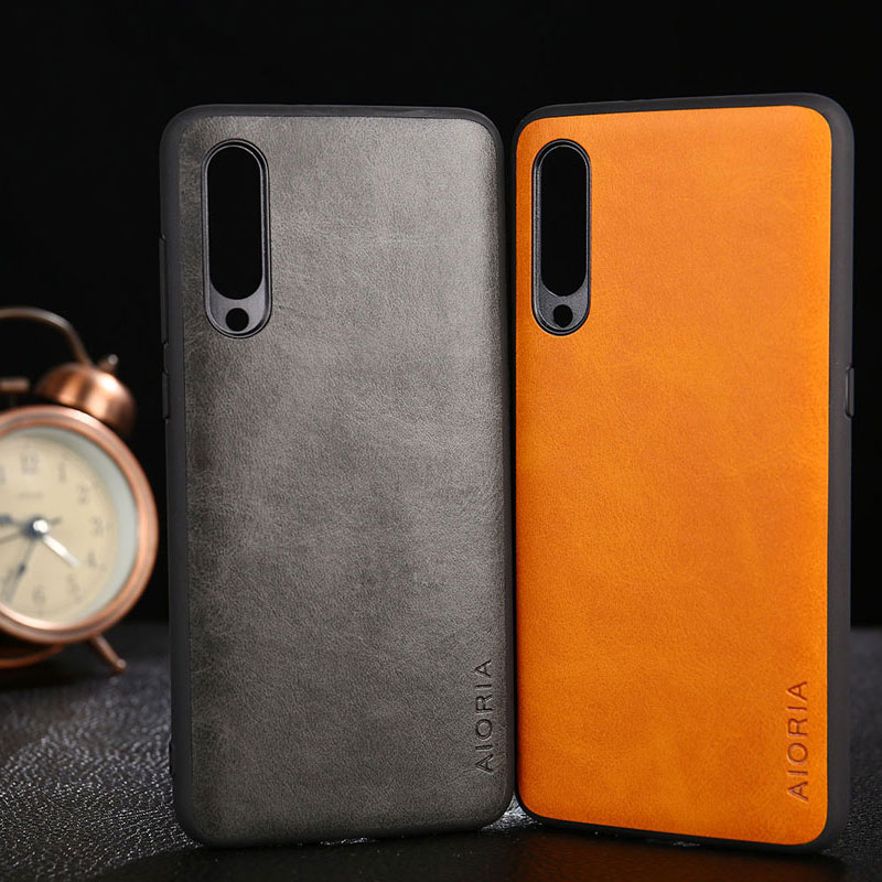 Case for <font><b>Xiaomi</b></font> <font><b>Mi</b></font> <font><b>A3</b></font> funda Luxury Vintage leather with soft <font><b>cover</b></font> for <font><b>xiaomi</b></font> <font><b>mi</b></font> <font><b>a3</b></font> case coque capa Business hoesje image