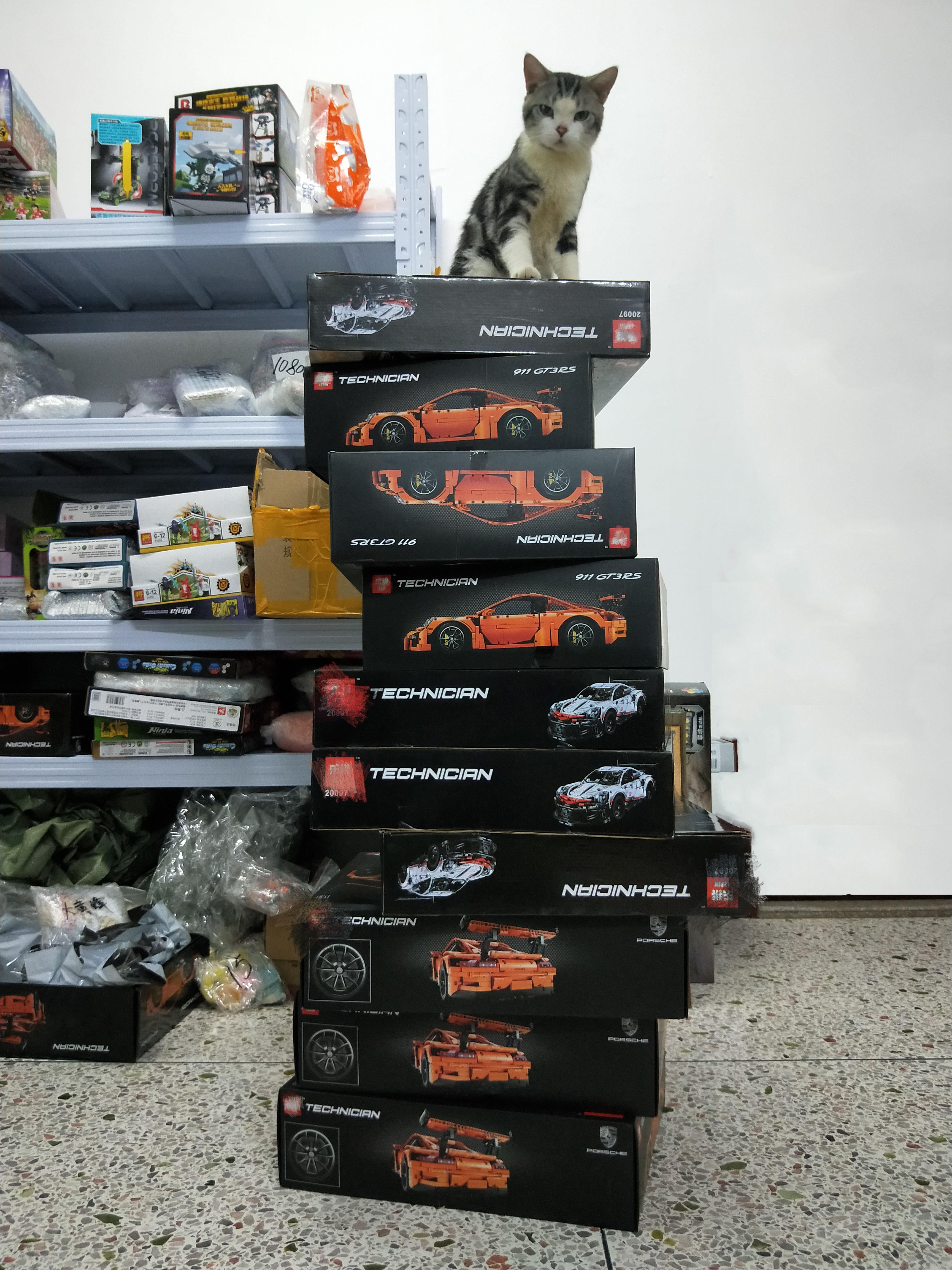 En STOCK Leping 20097 20001 911 RSR GTRr bricolage Compatible IEGOset 42096 Technic MOC course voiture blocs de construction jouets cadeaux