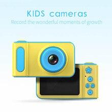 Детская игрушка 2 дюймов Камера детская цифровой Камера 1080p HD Большой Экран игрушечная мини-камера для детей подарок на день рождения развивающие игрушки