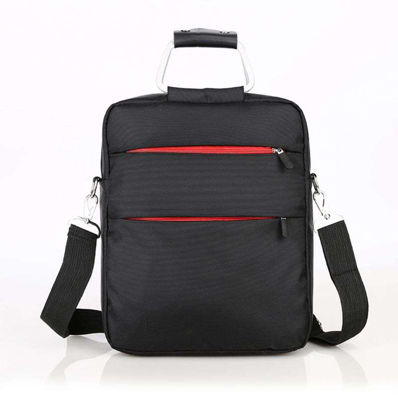 Portable Mini Laptop Computer Briefcase For Men Casual Nylon Handbag Business Shoulder Messenger Bags