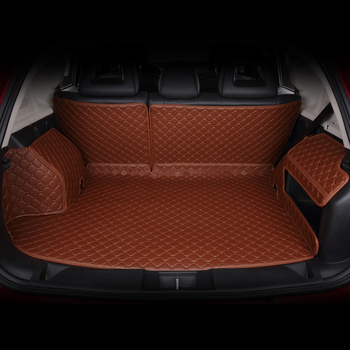 Dedicatef Full Surrounded Car Trunk Mats for C200L B200 E260L ML350 Rear Trunk Rugs Surrounded By Leather Full
