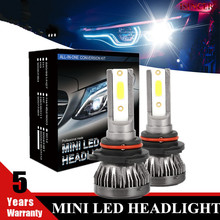 Bulb-Kit Car-Headlight White-Bulb 9006 Hb4 H11 Led 6000K H7 Mini H1 Auto-Fog-Head-Lamp