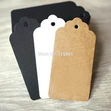Etiqueta de papel da festa de casamento, barra de papel de pendurar etiqueta 100 pçs/lote