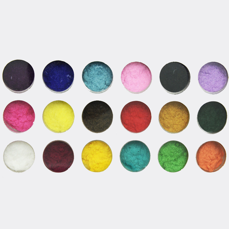 Manicure Jewelry 18 Colors Plush Powder Nail Stickers Manicure Products Velvet Manicure Plush Powder