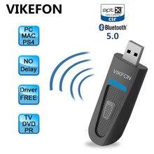 Plug & Play, usb адаптер Bluetooth 5,0 для ПК, компьютера, динамика, беспроводной Bluetooth музыкальный аудио приемник, передатчик Aptx LL