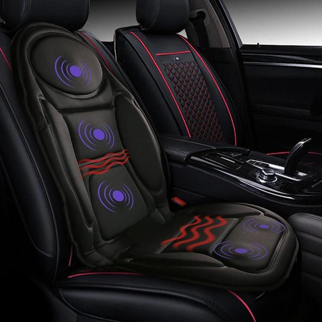 12V électrique chauffé siège de voiture housse de coussin siège chauffage plus chaud hiver ménage chauffage siège coussin