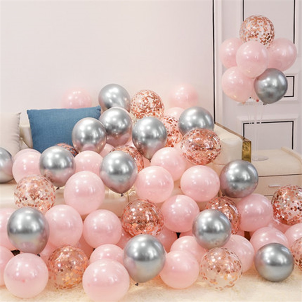 18pcs 10inch Multicolor Latex Balloons Matte Helium Globos For Wedding Decoration 13