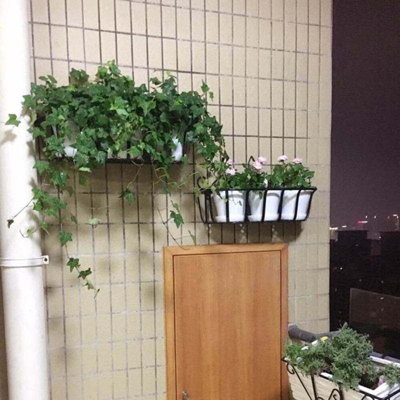 Rack Wall Hanging Type Green Luo Flowerpot Frame A Living Room Wall Suspension Iron Art Shelf Balcony Wall Hanging Decorate