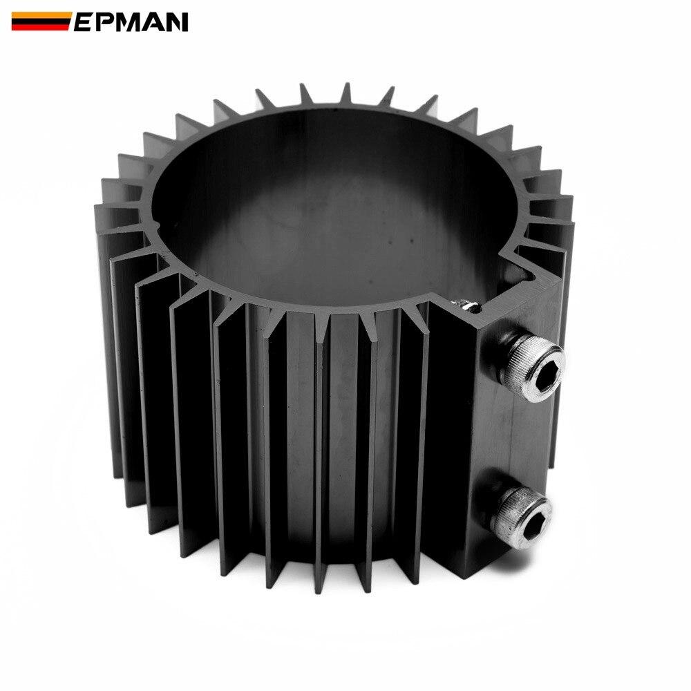 Black Heat Sink Cover,Engine Oil Filter Cooler Heat Sink Cover Billet Aluminum Alloy Motor Mount
